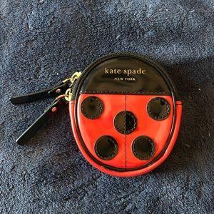 Kate Spade ladybug coin purse